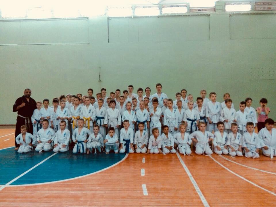Состоялся областной учебно-тренировочный семинар по Симмей-до каратэ.(WSF). Фото  Подробнее читайте на Юж-Ньюз: http://xn----ktbex9eie.com.ua/archives/7420