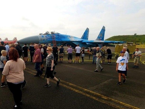 Украина показала истребители на авиашоу в Дании. ВИДЕО  Подробнее читайте на Юж-Ньюз: http://xn----ktbex9eie.com.ua/archives/10103