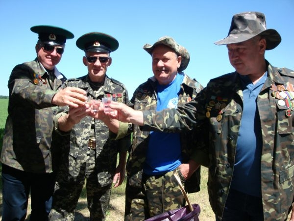 Бывших пограничников не бывает. Фото.  Подробнее читайте на Юж-Ньюз: http://xn----ktbex9eie.com.ua/archives/8735