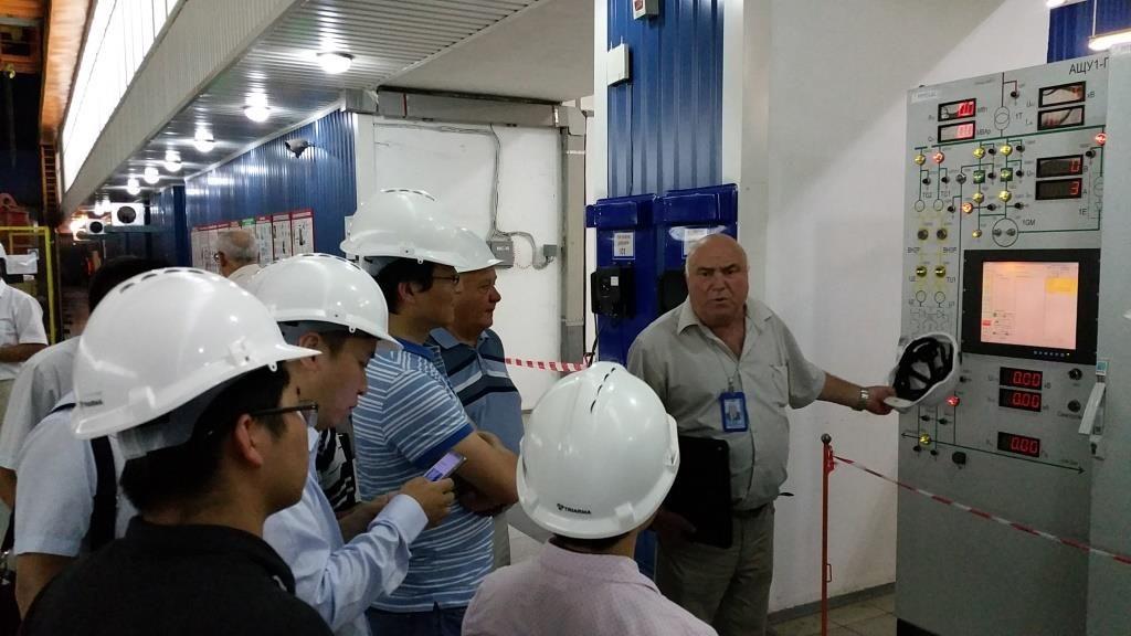 С ходом достройки и работой ныне действующих агрегатов Ташлыкской ГАЭС ознакомились специалисты из Китая  Подробнее читайте на Юж-Ньюз: http://xn----ktbex9eie.com.ua/archives/20111