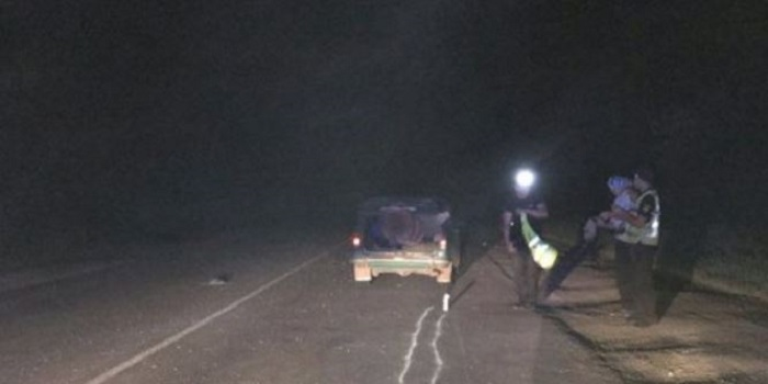 Под Южноукраинском «ВАЗ» на трассе сбил пьяного пешехода. Фото. Подробнее читайте на Юж-Ньюз: http://xn----ktbex9eie.com.ua/archives/17735