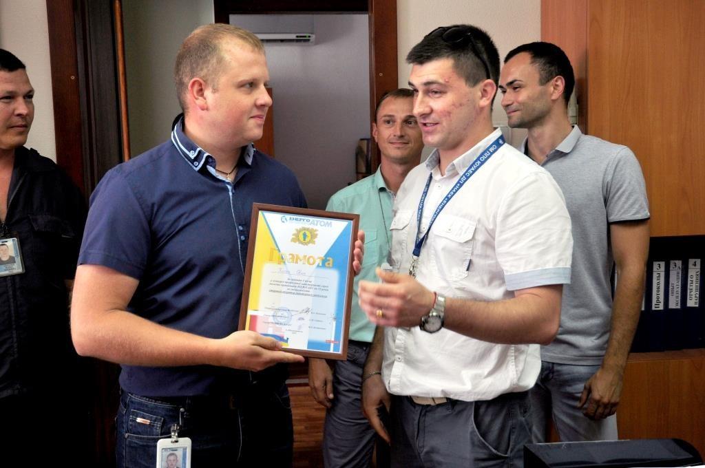 Во втором реакторном цехе ЮУАЭС определен победитель конкурса «Лучший по профессии»  Подробнее читайте на Юж-Ньюз: http://xn----ktbex9eie.com.ua/archives/16136
