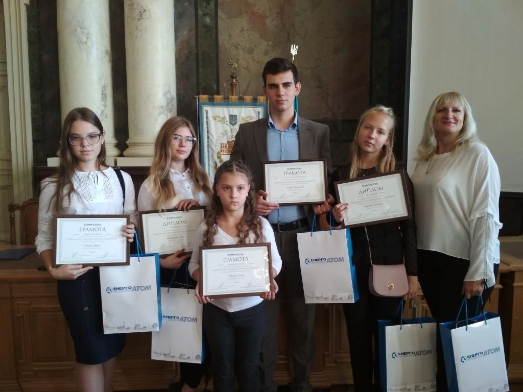 Школьники из города-спутника ЮУАЭС стали призерами конкурса «Энергоатом»: с чистой энергией в будущее»  Подробнее читайте на Юж-Ньюз: http://xn----ktbex9eie.com.ua/archives/23576