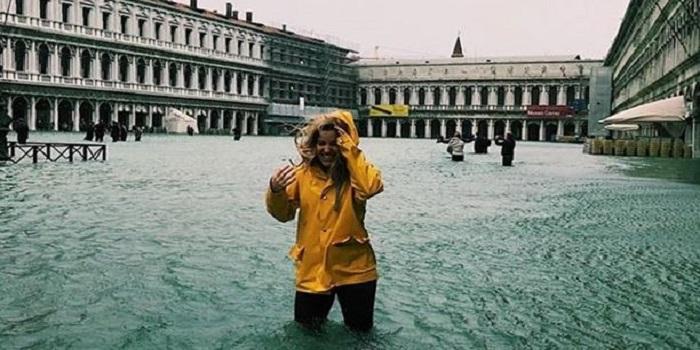 Из-за непогоды затопило Венецию. Видео Подробнее читайте на Юж-Ньюз: http://xn----ktbex9eie.com.ua/archives/27627