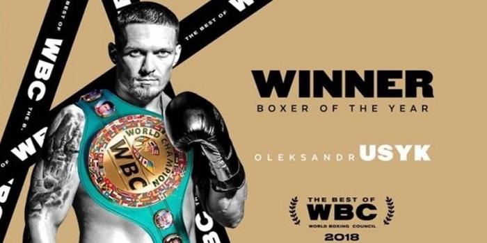 Усик — лучший боксер года по версии WBC Подробнее читайте на Юж-Ньюз: http://xn----ktbex9eie.com.ua/archives/38011