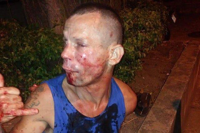 Девушка-боец жестоко избила грабителя за попытку отнять у неё телефон. Фото.  Подробнее читайте на Юж-Ньюз: http://xn----ktbex9eie.com.ua/archives/36179