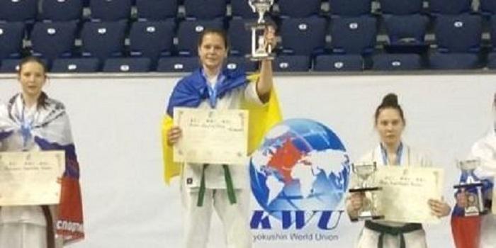 Каратистка из Первомайска завоевала «золото» на первенстве мира Подробнее читайте на Юж-Ньюз: http://xn----ktbex9eie.com.ua/archives/37742