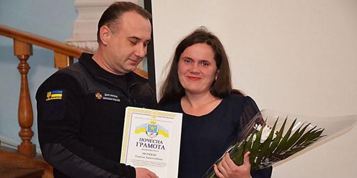 В Николаеве наградили женщину, вытащившую из ледяной реки троих детей Подробнее читайте на Юж-Ньюз: http://xn----ktbex9eie.com.ua/archives/43165