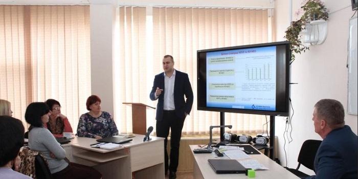 Специалисты ЮУАЭС и Южноукраинского профлицея поделились опытом сотрудничества в подготовке кадров Подробнее читайте на Юж-Ньюз: http://xn----ktbex9eie.com.ua/archives/48288