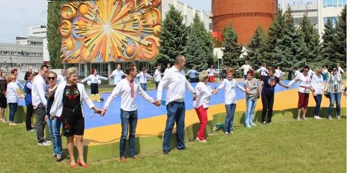 Южно-українські атомники взяли участь у флешмобі до Дня вишиванки Подробнее читайте на Юж-Ньюз: http://xn----ktbex9eie.com.ua/archives/51133