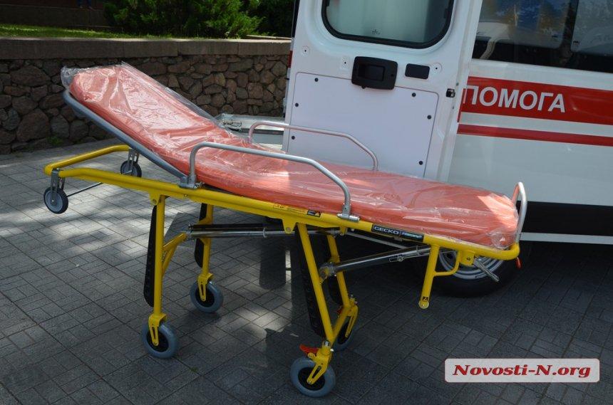 На Николаевщину прибыли 13 машин экстренной медицинской помощи. Южноукраинск среди получателей.  Подробнее читайте на Юж-Ньюз: http://xn----ktbex9eie.com.ua/archives/52920