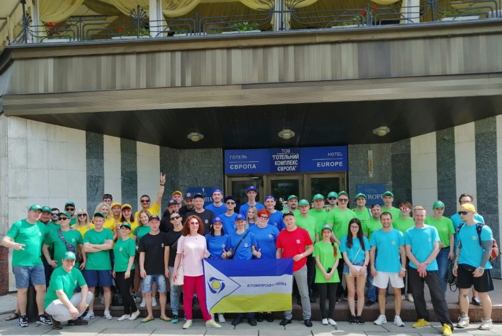 Команда организации молодежи ОП ЮУАЭС заняла второе место на конкурсе КВН Атомпрофсоюза Украины  Подробнее читайте на Юж-Ньюз: http://xn----ktbex9eie.com.ua/archives/51802
