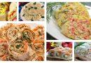 Рулеты из лаваша: 20 видов начинки! Кулинарные шедевры Подробнее читайте на Юж-Ньюз: http://xn----ktbex9eie.com.ua/archives/65152
