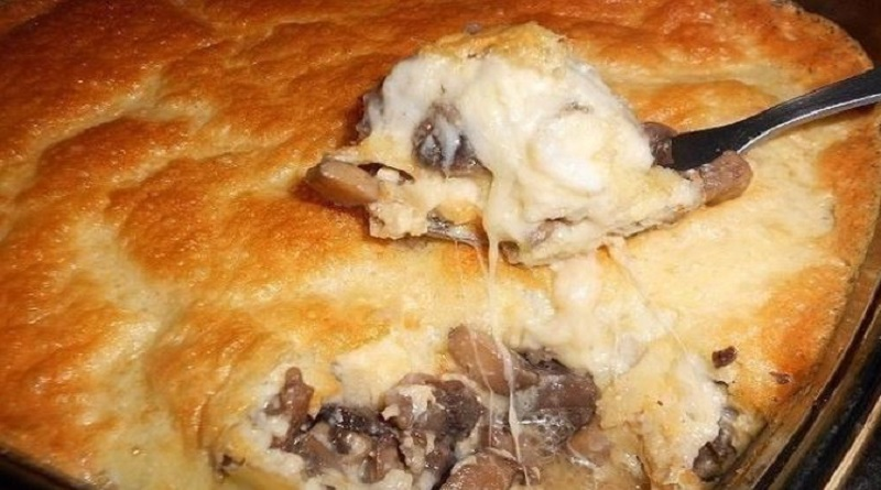 Кулинарные шедевры — Жульен-суфле с грибами Подробнее читайте на Юж-Ньюз: http://xn----ktbex9eie.com.ua/archives/64655