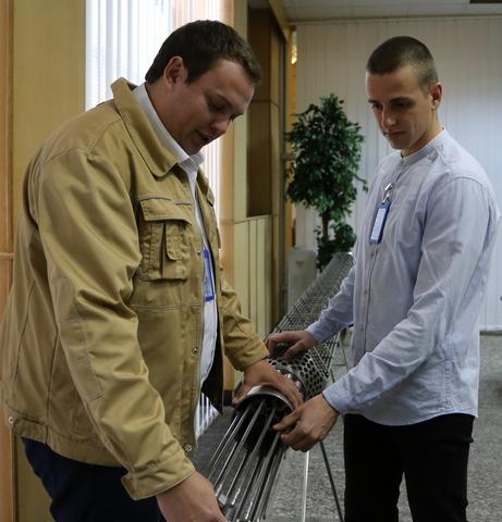 Молодые работники ЮУАЭС успешно адаптировались на первых рабочих местах  Подробнее читайте на Юж-Ньюз: http://xn----ktbex9eie.com.ua/archives/64085