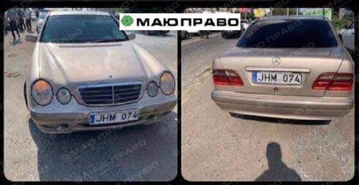 Автомобили, на которых передвигается Барсегян