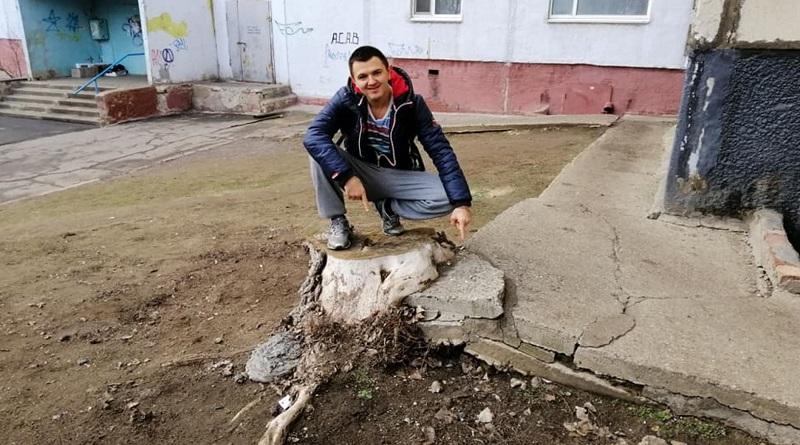 Южноукраинск — Пни, местная достопримечательность — Фото — Олександр Надьожа Подробнее читайте на Юж-Ньюз: http://xn----ktbex9eie.com.ua/archives/71441