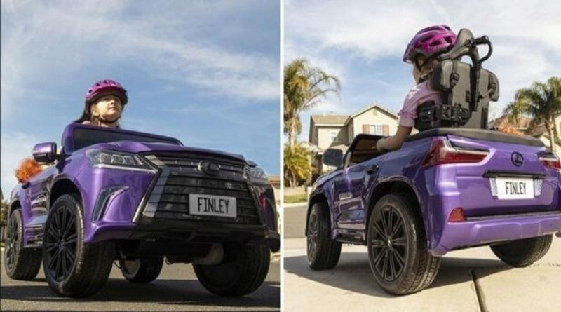 В сети показали автомобиль Lexus, который сделали специально для ребенка с ДЦП Подробнее читайте на Юж-Ньюз: http://xn----ktbex9eie.com.ua/archives/74366