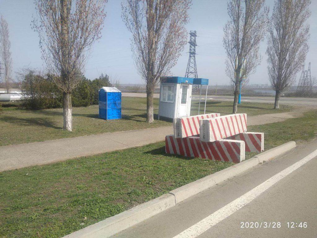 ФОТО: Частина в'їздів в Южноукраїнськ закрита  Подробнее читайте на Юж-Ньюз: http://xn----ktbex9eie.com.ua/archives/75750