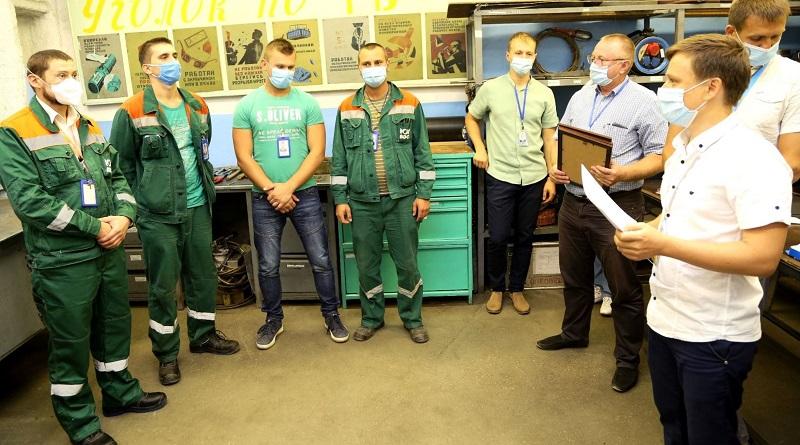 В цеху по ремонту турбинного оборудования энергоремонтного подразделения ОП ЮУАЭС провели конкурс профессионального мастерства