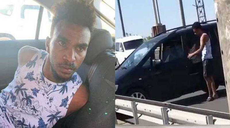 В Полтаве африканец угнал машину с детьми