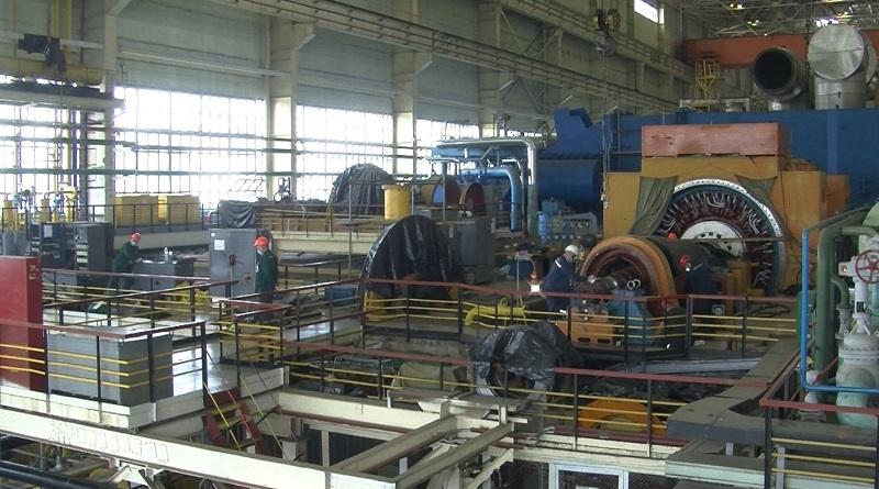 На энергоблоке №1 ЮУАЭС выполняется реконструкция системы охлаждения генератора