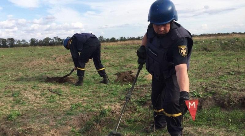 В Новобугском районе нашли 28 взрывоопасных предметов