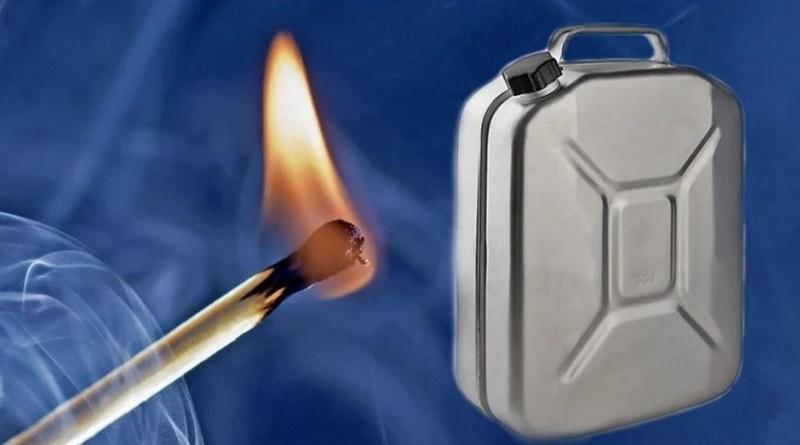 В Николаеве рабочий облил работодателя бензином и угрожал сжечь