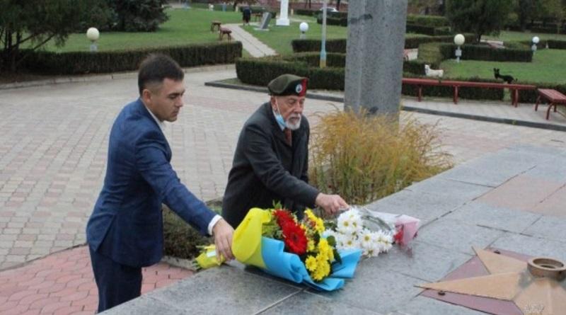 Южноукраїнськ - ДО 76-Ї РІЧНИЦІ ВИГНАННЯ НАЦИСТІВ З УКРАЇНИ