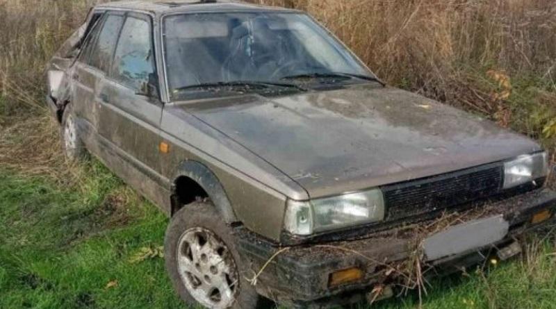 Под Первомайском перевернулся «Ниссан» - водитель погиб на месте