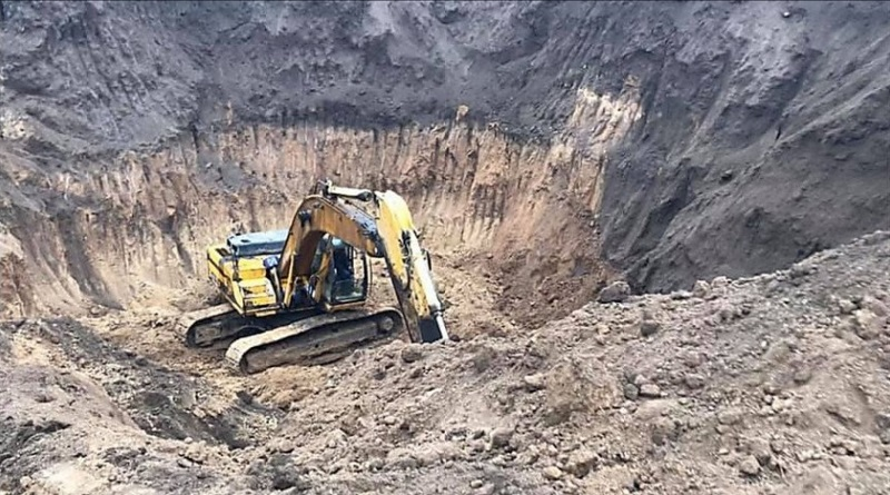 Полиция разыскивает «черных археологов», уничтоживших скифский курган в Николаевской области