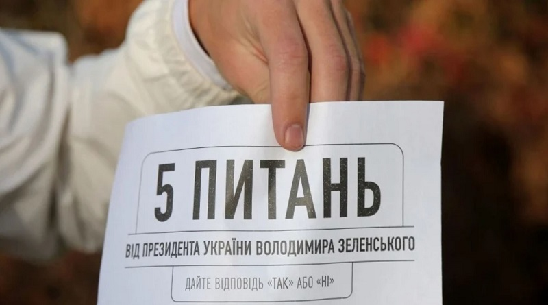 На Зеленского подали в суд за его «пять вопросов»