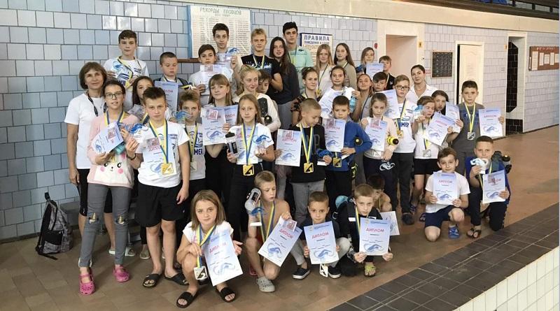 Южноукраинские пловцы показали отличные результаты