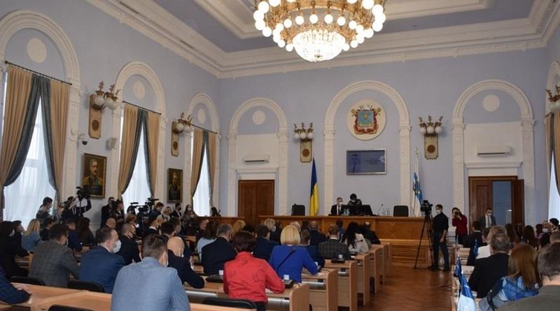 В Николаевском горсовете созданы пять фракций