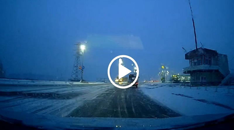 Видео с места ДТП под Южноукраинском