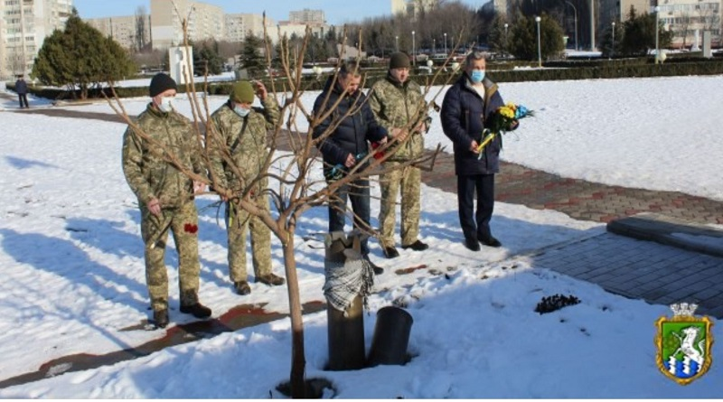 Южноукраїнськ - З НАГОДИ ДНЯ СОБОРНОСТІ УКРАЇНИ