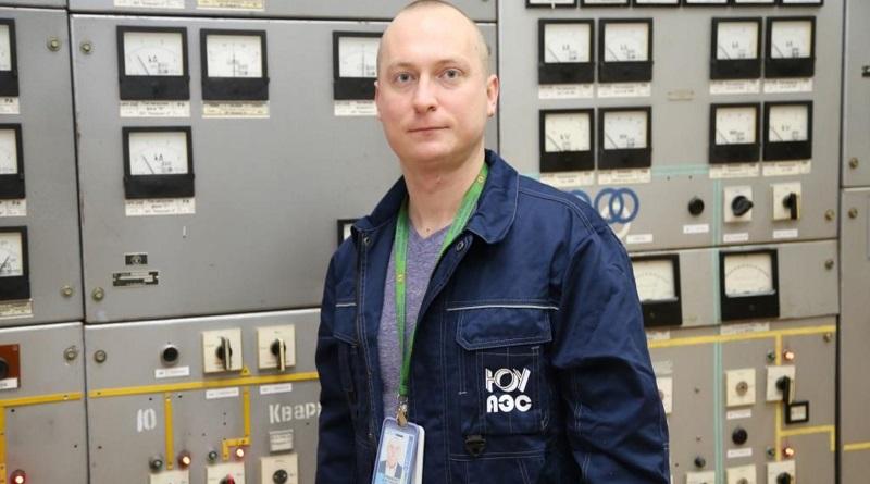 Люди АЭС. Константин Литвиненко, электромонтер по обслуживанию подстанции 330 кВ