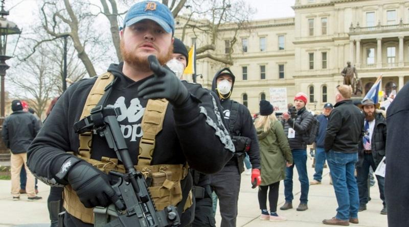 В США могут начаться вооруженные акции протеста