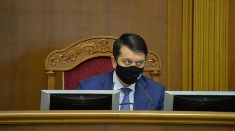 Разумков не поддержал санкции против ТВ-каналов