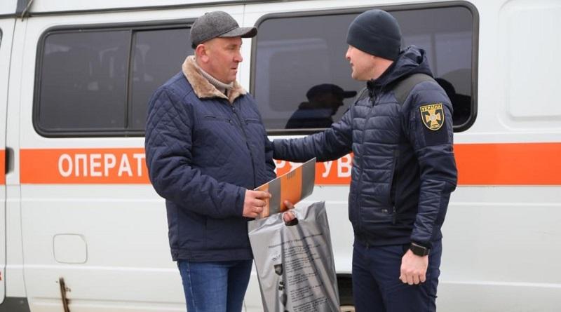 Водію-рятівнику, який працює в автотранспортному господарстві ВП ЮУАЕС, вручили Подяку
