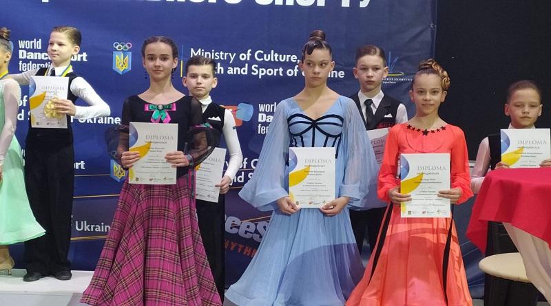 Танцюристи «Натхнення» вкотре продемонстрували високий рівень та чудову підготовку