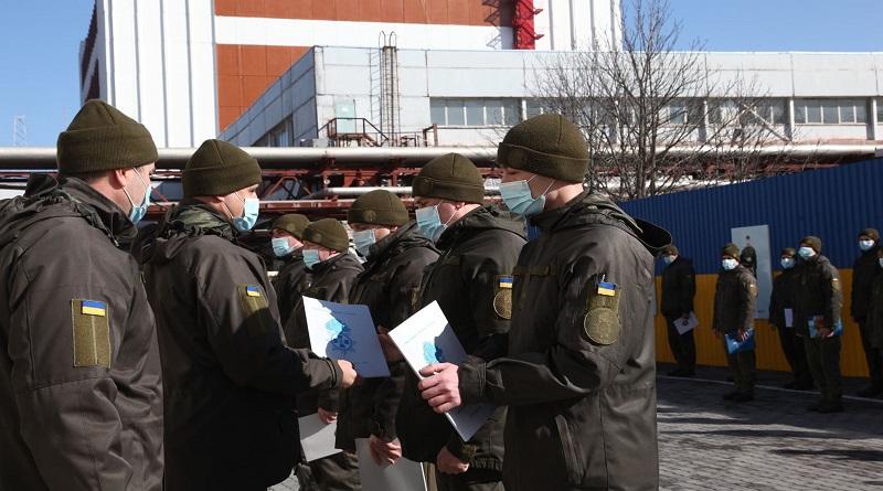 26 марта - День Нацгвардии Украины! Гвардійці військовій частині 3044 відзначають День Національної гвардії України. Фото.
