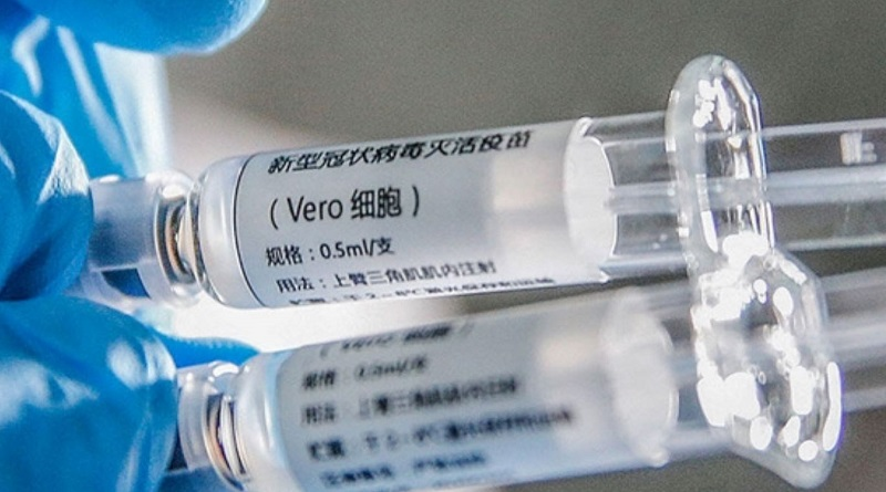 Украине не предоставили сертификаты на китайскую вакцину от коронавируса
