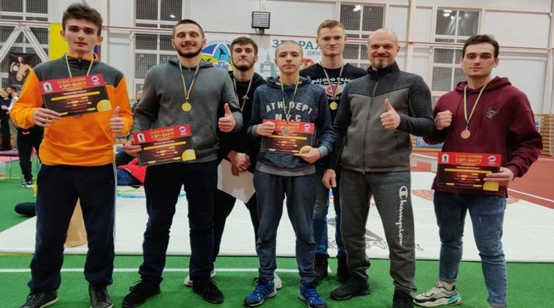 Николаевцы привезли с Кубка Украины по фри-файту шесть медалей
