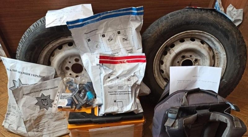 Четверо жителей Первомайска, в том числе несовершеннолетний, обворовывали автомобили