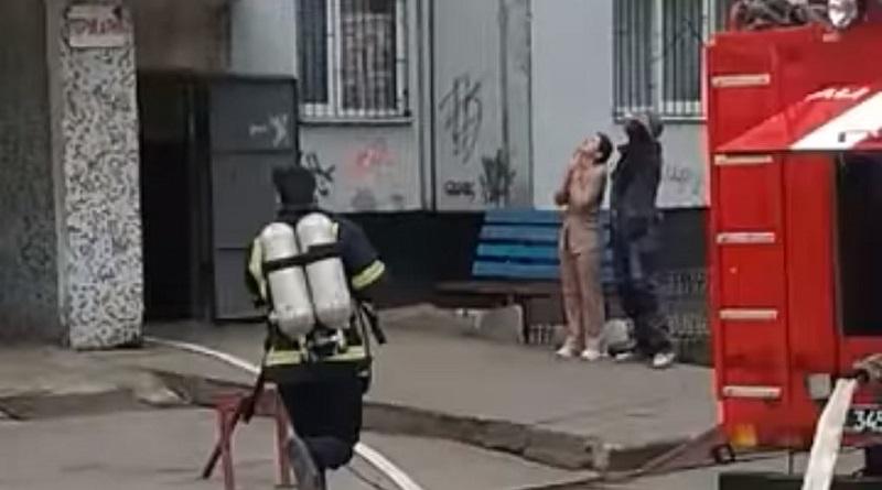 У южноукраїнській багатоповерхівці загорілися лічильники електроенергії
