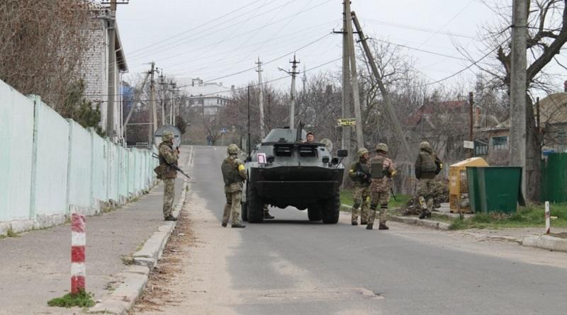 В Николаевской области СБУ проводит учения по защите военных объектов