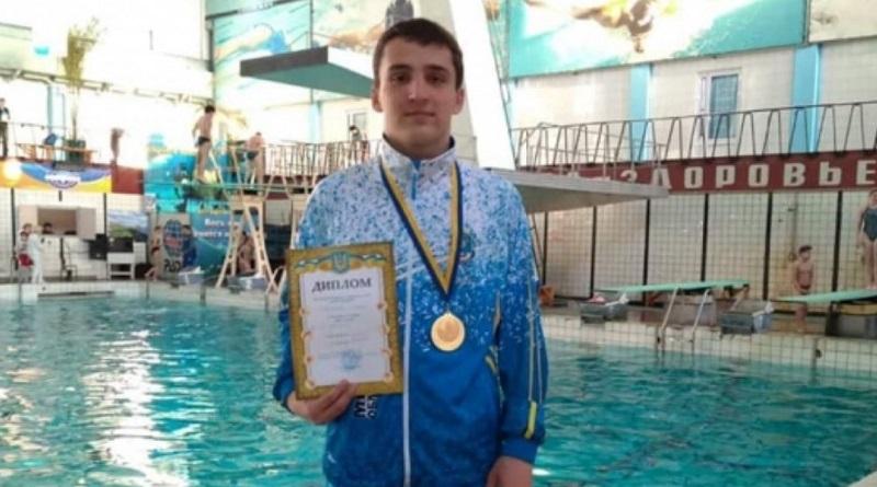 Николаевский прыгун стал чемпионом Украины среди молодежи