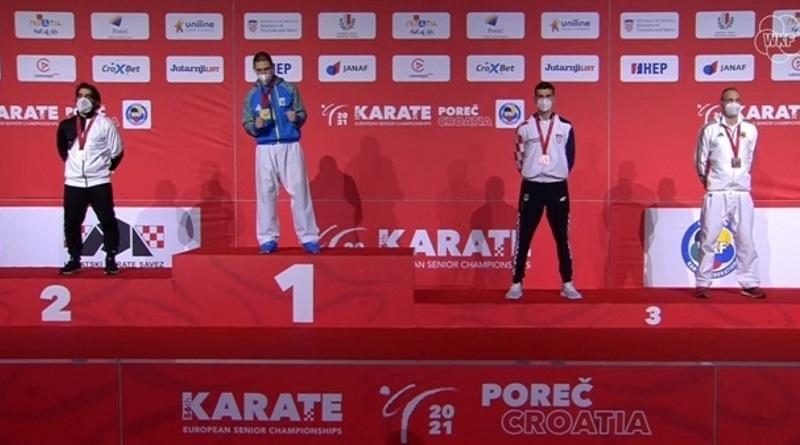 Впервые золотым призером чемпионата Европы по каратэ стал украинец