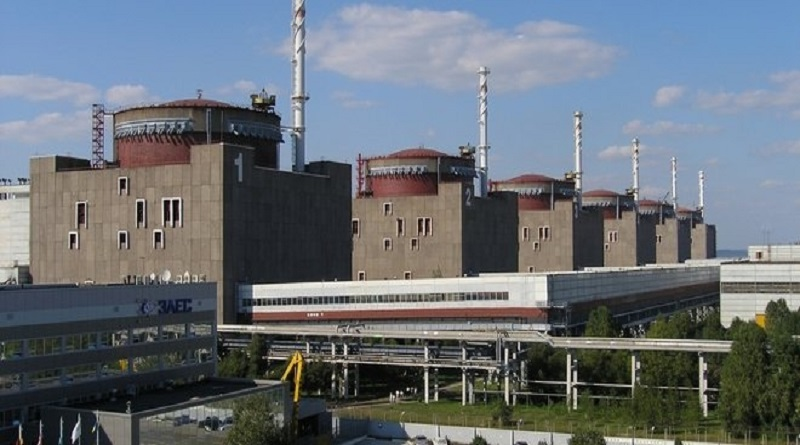 На Запорожской АЭС отключили пятый энергоблок